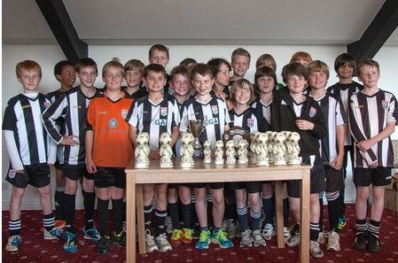 Bath City Youth FC under 11s grassroots champions